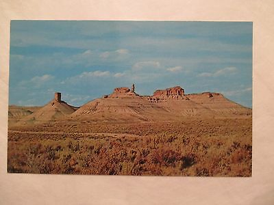 Chimneys of the Big Firehole Wyoming WY Postcard