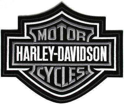 "Awesome Harley Davidson Bar & Shield  Patch    Size X-Small  2.5"" X 3""      New"