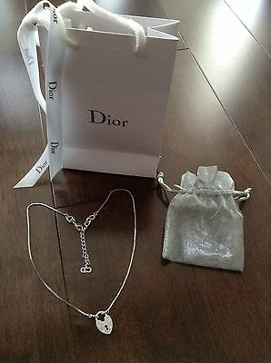 100% Authentic Christian Dior Heart Necklace