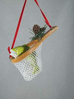 Fishing Net with Fish Christmas Tree Ornament new holiday