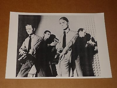 Kraftwerk 10 x 7 1981 Agency Publicity Photo