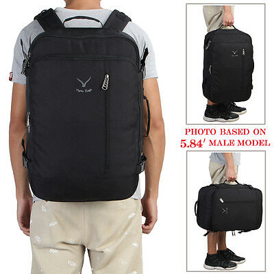 Travel Cabin Approved Carry on Bag Backpack Convertible 20'' Luggage Holdall 38L