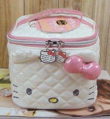 Hello Kitty Sanrio Beauty Case Make Up Porta Trucchi Nuovo Originale Piccolo