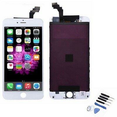 For iPhone 6 Plus 5.5'' New LCD Touch Screen Digitizer Frame Assembly White AU