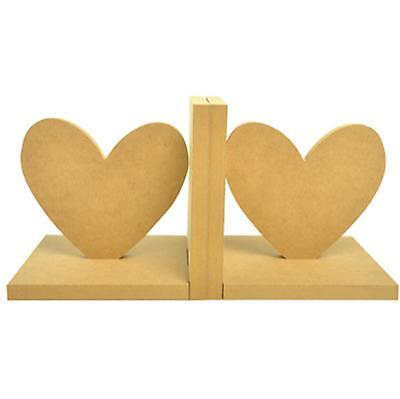 Kaisercraft - Beyond The Page - Wooden Heart Bookends / Book Ends - DIY