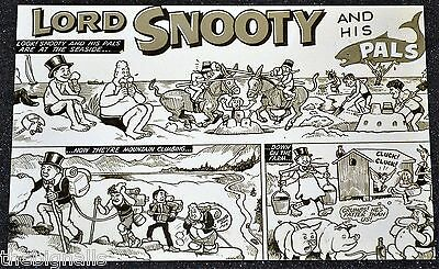 Lord SNOOTY art by Dudley D Watkins BEANO  POSTCARD new