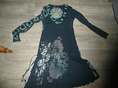 robe desigual longues manches taille M /38/40