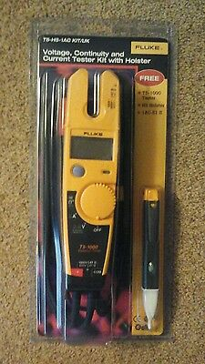 Fluke T5-1000 Voltage, Continuity And Current Tester with holster Brand New