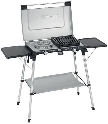 Campingaz Series 600 SG Double Burner, Grill & Stand
