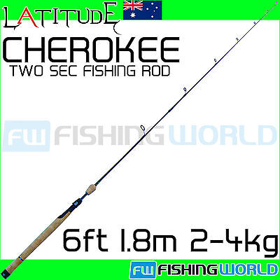 LATITUDE CHEROKEE 6ft 1.8m 2-4kg HIGH MODULUS IM6 CARBON FISHING ROD