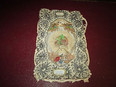 Very Old Lace Greetings Card