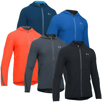 Under Armour HeatGear Fitted Run True SW Jacket Herren Jacke Laufjacke 1289388