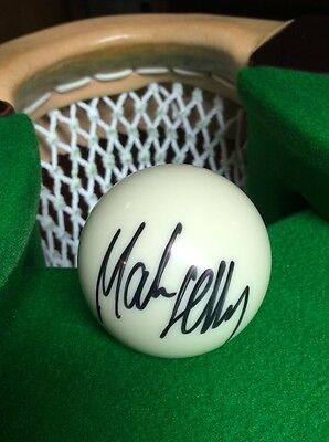 Great Christmas Gift Mark Selby 2014 World Champion Signed White Snooker Ball...
