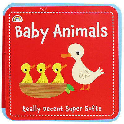 Baby Animals by Really Decent Books (Board Book), Children's Books, Brand New