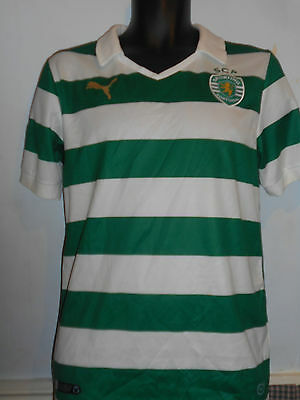 Sporting Lisbon Home Shirt ( 2013/2014) small men's #260