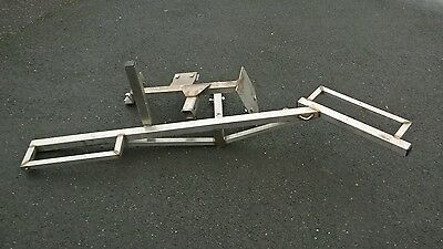 Heavy Duty Motorcycle Motorbike Scooter Carrier Ex Con Stainless Steel.