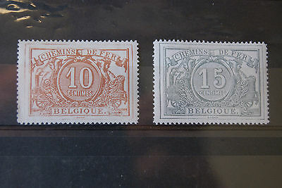 Belgium Stamps. 1882 RAILWAY STAMPS. M/MINT. SCARCE. HIGH C/V.