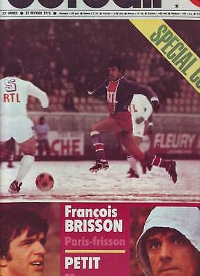 1978 france football n°1663 SPECIAL COUPE PORTUGAL SIX