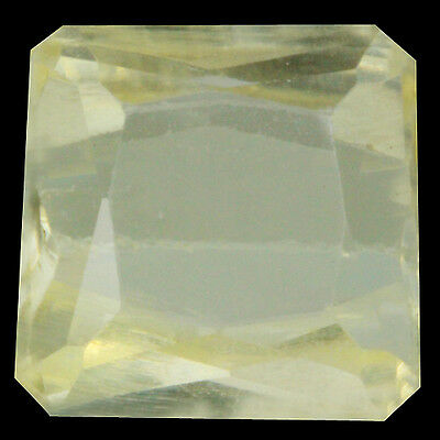 9.60 Ct Marvelous! Top Fire 100% Natural Afghanistan Lovely Yellow Kunzite.