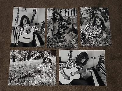 Peter Frampton  - Lot of 5 1974 Agency Publicity Photos