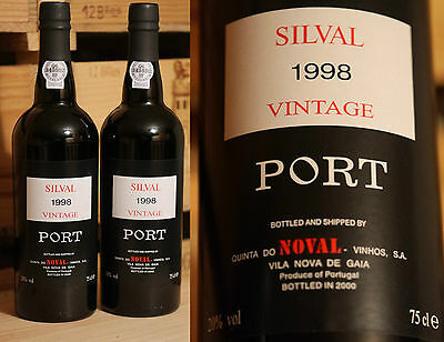 1998er Quinta do Noval - Silval Vintage Port *****