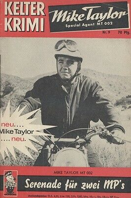 """Kelter Krimi Nr. 009 ***Zustand 2-*** """"Mike Taylor"""""""