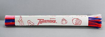 Twisticks Vintage Chenille Stems Pipe Cleaners Original Packaging of 100 Pieces