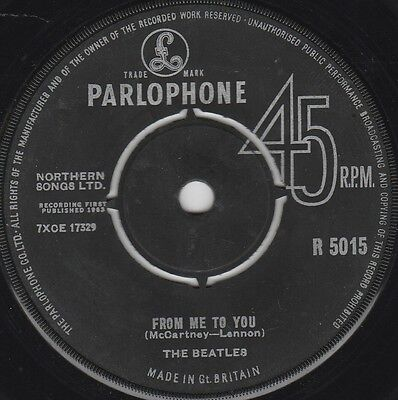 """The Beatles From Me To You (14612) 7"""" Single 1963 Parlophone R 5015"""