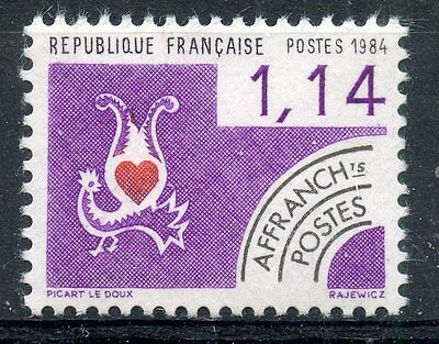 Stamp / Timbre France Neuf Preoblitere N° 182 ** Cartes A Jouer / Coeur