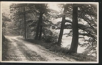 Postcard - View in Dimminsdale, Alton, Staffordshire. Unposted.