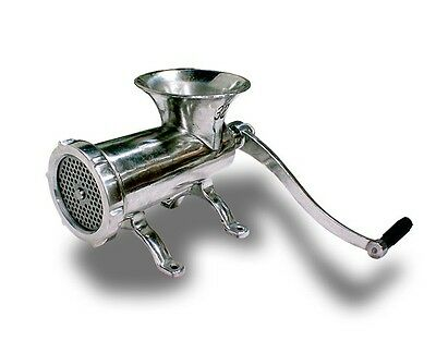 New MTN Gearsmith No32 Sausage Stuffer Stainless Steel Manual Meat Grinder