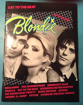 Blondie, Eat to the Beat, words & music. Plus black & white press photo. 1979