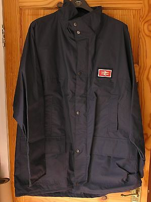 British Railways Large Waterproof Jacket With Doubled Arrow Badge