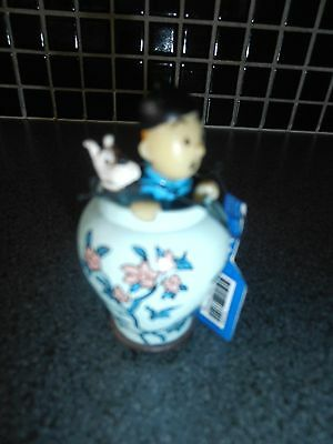 Tintin, Kuifje; RARE figurine...complete new with label.