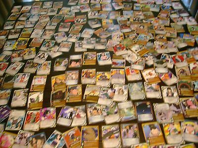 Lot of 200 Naruto cards excellent shape rare                             3