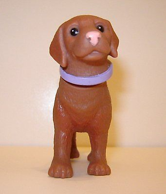 Brown Dog Animal Pet For/fits Dollhouse Barbie/blythe Size Doll