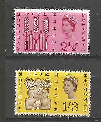 Great Britain 1963 F.f.h. Phosphor Set Mint Hinged