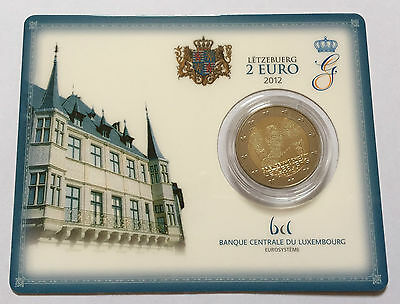 2 euro Luxemburg 2012 BU Stempelglanz coincard blister (Marriage)