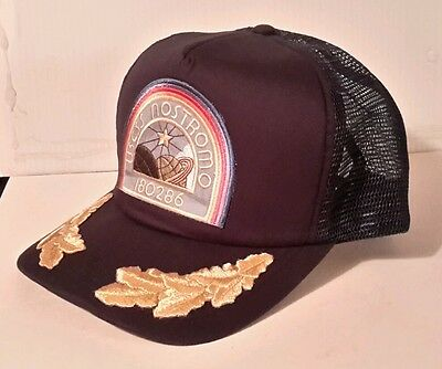 Alien Movie NOSTROMO Officer Navy Blue Baseball Cap/Hat w Patch & Eggs- FREE S&H