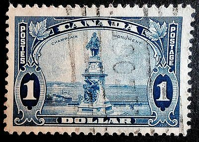 Canada 1935 KGV One Dollar Definitive Value  - Good Used -  SG 351