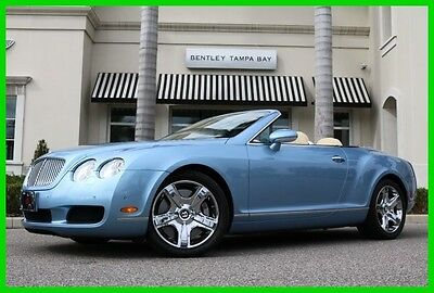 2007 Bentley Continental GT GTC Convertible 2-Door 2007 Used Turbo 6L W12 60V Automatic AWD Premium