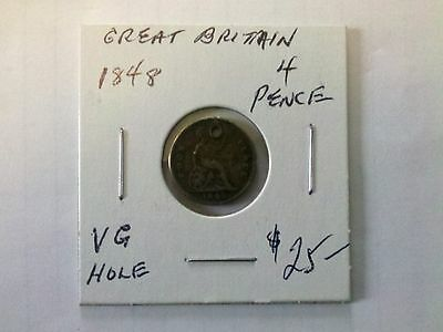 Great Britain 1848 4  Pence