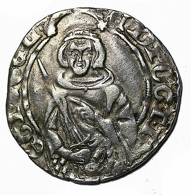 France Anglo-Gallic Edward The Black Prince Silver Hardi D'Argent S.8134