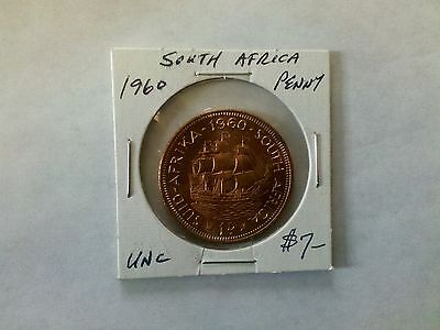 South Africa 1960 Penny