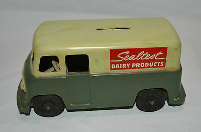 SEALTEST DAIRY PRODUCTS VAN - TRUCK BANK w/STOPPER