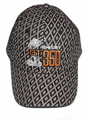 Shelby Gt350 Hat In Black Mens Sizing Brand New Item