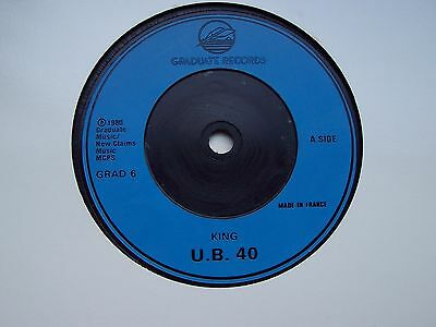 Ub40, King / Food For Thought. Original 1980 French Issue On Graduate Records