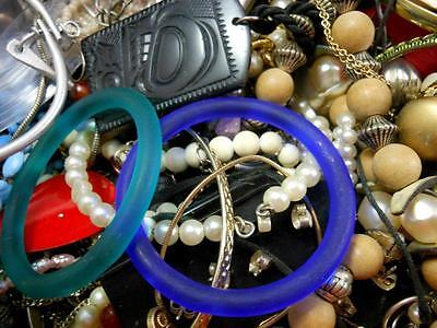 12+ LBS Mixed Costume Jewelry Lot for Wear Crafts Repair Harvest Re-Purpose