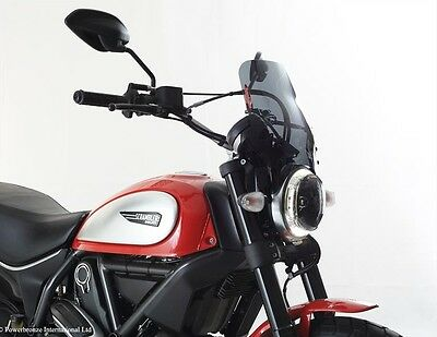 Ducati Scrambler 15 16 Light Screen Shield Windshield Dark Tint MADE IN UK (PB)