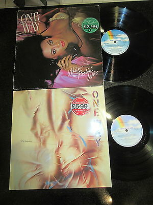 """ONE WAY """"WHO'S FOOLIN' WHO"""" / """"WRAP YOUR BODY"""" JOB LOT 2 x LP FUNK DISCO"""